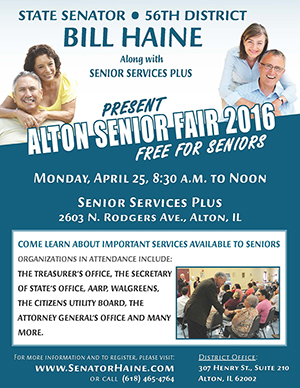 Senator Haine Senior Fair